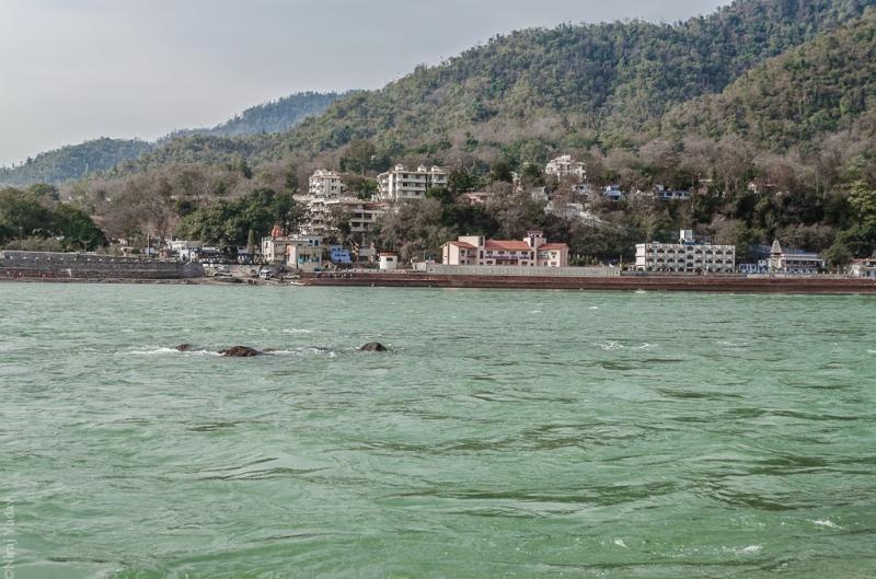 Ganga ghat in Rishikesh