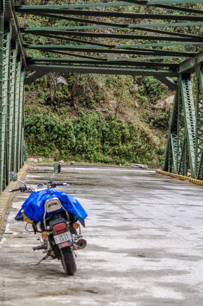 Iron bridge on Joshimath Badrinath route