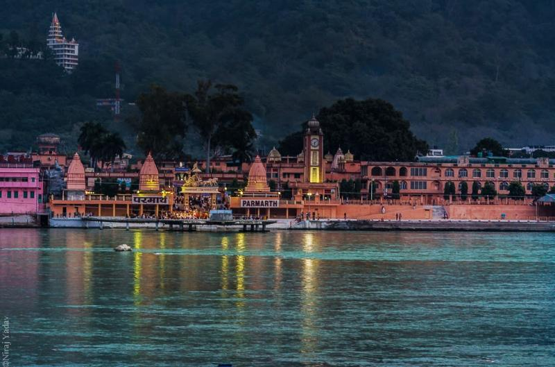 Ganga aarti at Rishikesh
