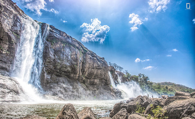 Athirapally falls, Places to visit in august in india