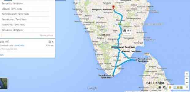 Epic Road Journey - India Southern Gateway #TWC