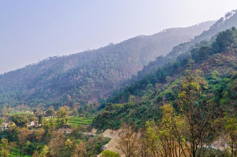 Srinagar rudraprayag scenery