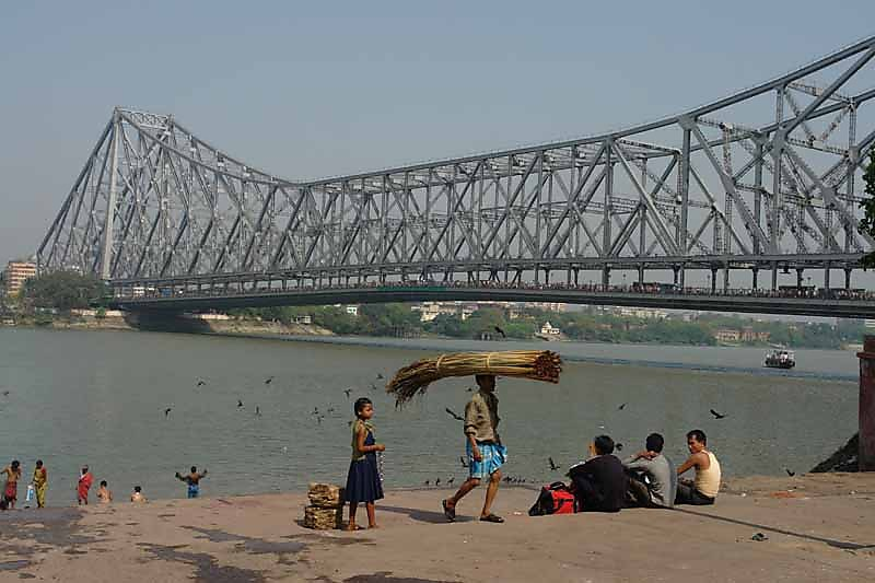 Howrah Bridge - Haunted Place in Kolkata