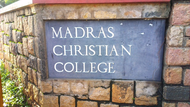 Madras Christian College, most haunted places in Chennai