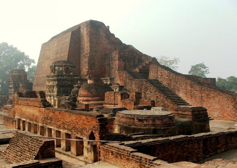 Nalanda: Historical Place to visit in India in october, Best Places to Visit in India in October