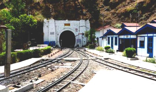 Tunnel 33 Barog haunted scary