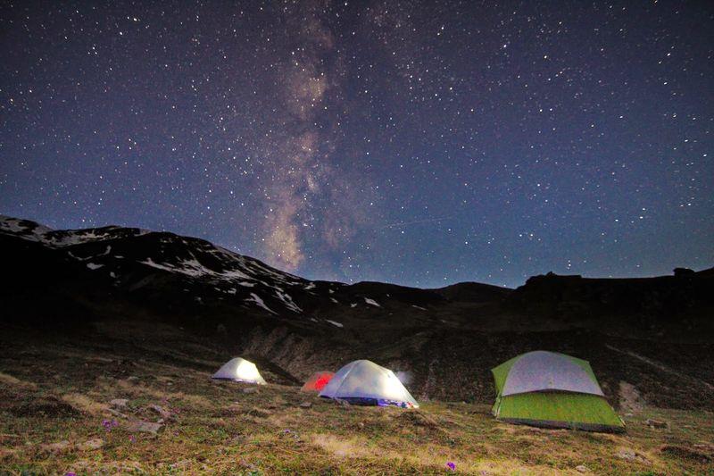 Kuari Pass, Places to stargaze in India