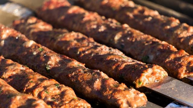 Mutton Kebabs, Food of Bihar