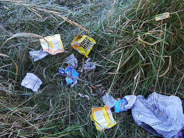 Don't Litter, trekking in india