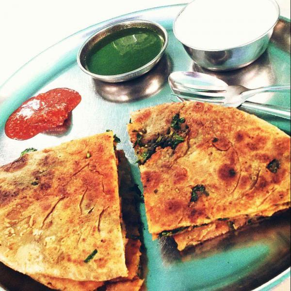 Paranthas, Mumbai street food