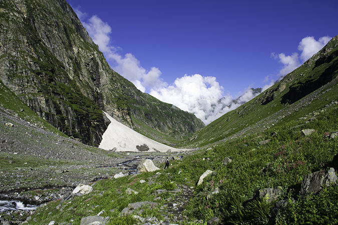 hampta pass, trekking in india