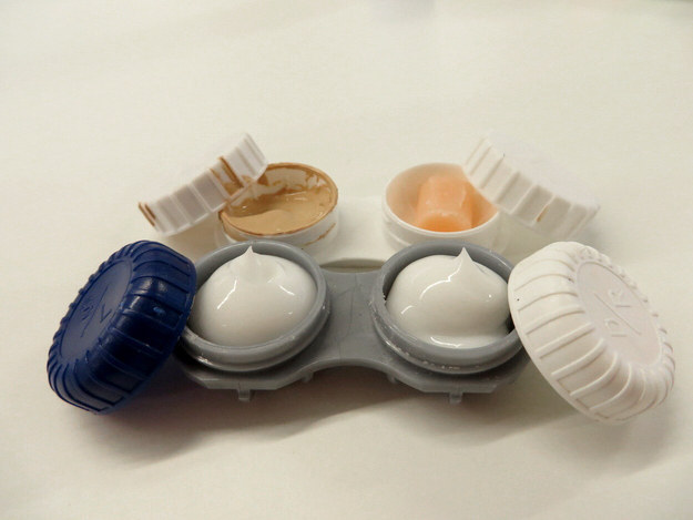 travel hack for concealer or lotions