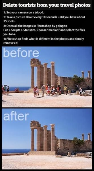 vacation photos travel hack