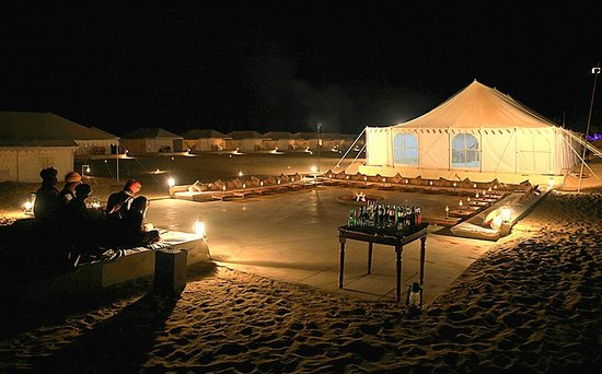 Jaisalmer, Places to celebrate New Year in India
