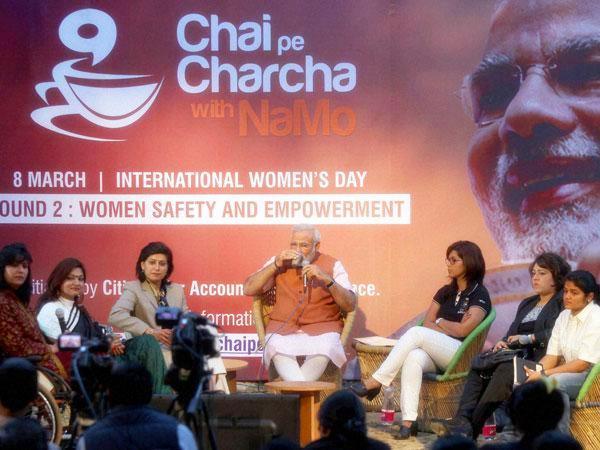 Chai pe Charcha with Namo