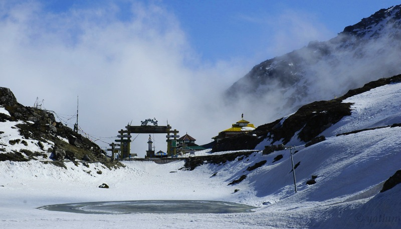 Sela Pass, Snow places in India