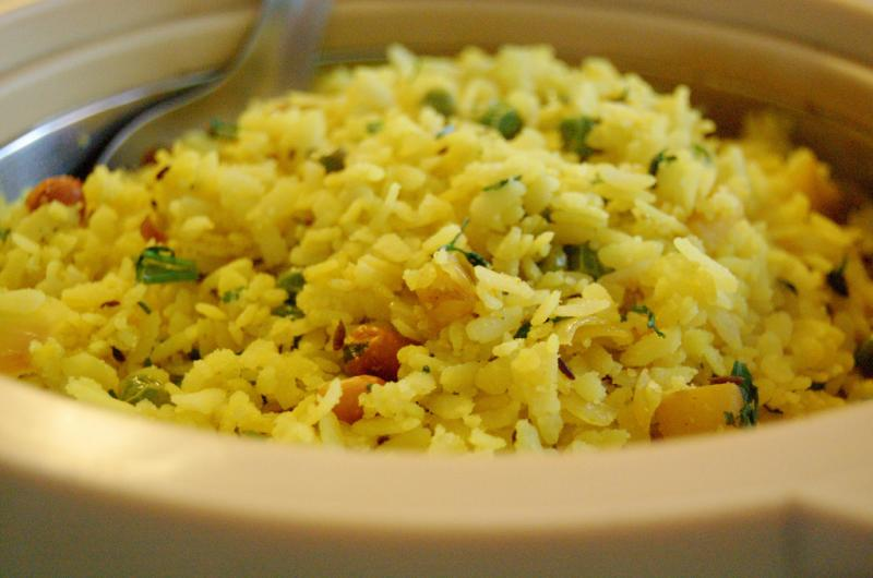 Poha, Maharashtra Food