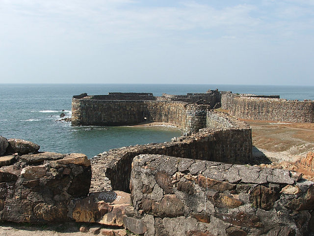 Sindhudurg Fort, Mumbai to Goa road trip