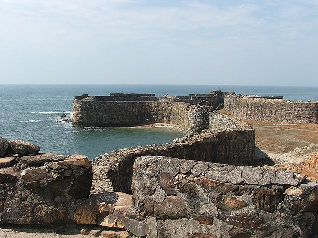 Sindhudurg Fort, Mumbai to Goa road trip