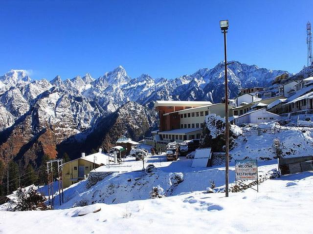 Auli, Snow Places India