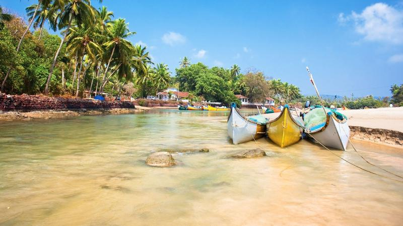 Mumbai to Goa road trip, A Beach in Goa
