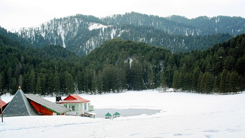 Khajjiar, Best places for snow in India