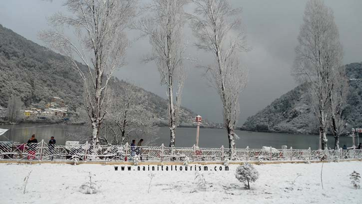Nainital, Places for snow in India