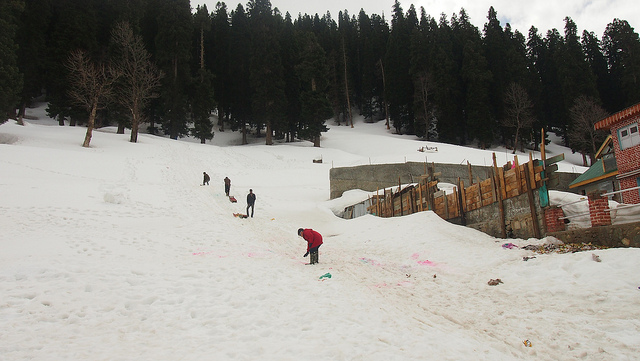Sonamarg, Snow Places in India