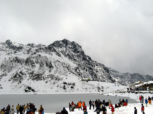 Tsomgo Lake, north Sikkim, Places for snow in India