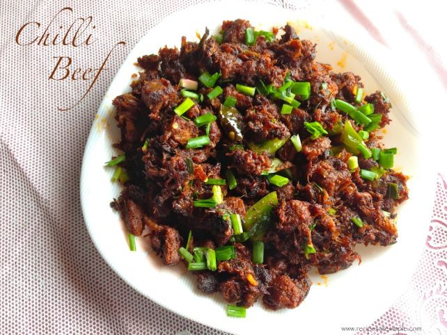 Spicy beef fry, Food of Kerala, Kerala Cuisine