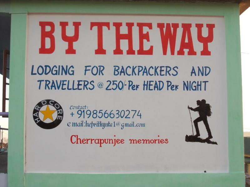 By the way hostel, Cherrapunjee, a backpackers hostel in India
