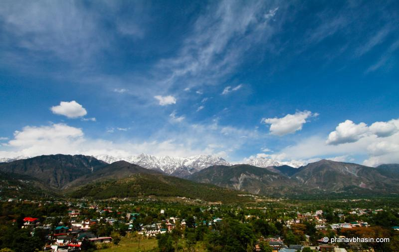 Dharamshala City. Source