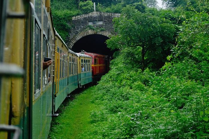 The Himalayan Queen of the Kalka Shimla Himalayan Mountain toy train - Mountain Railways of India