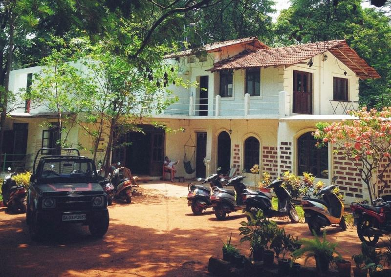 Jungle Hostel, a backpackers hostel in India