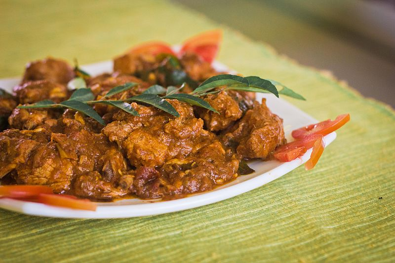 Kerala_(Naadan)_Chicken_Curry, Kerala Food, Kerala Cuisine