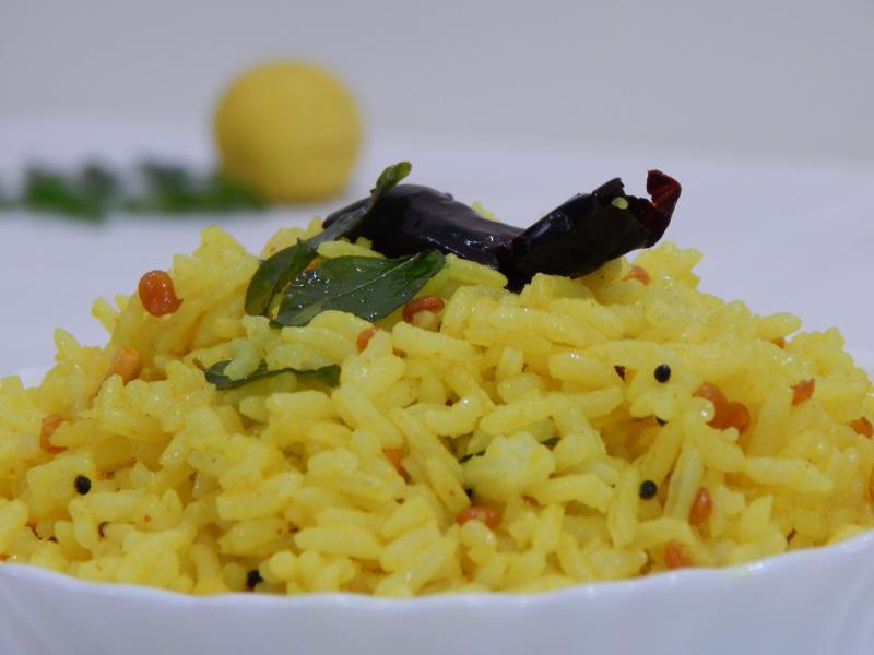 Lemon rice, Tamil Nadu Food