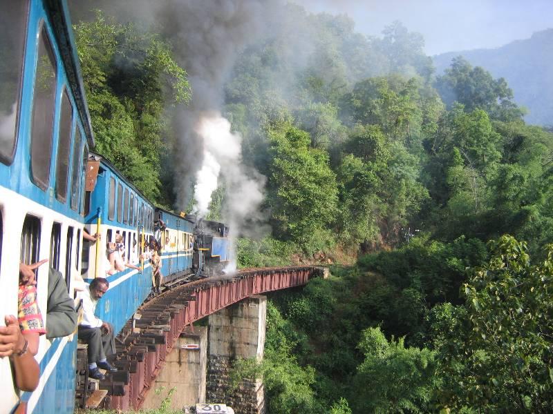 The Nilgiri Mountain railway - Mountain Railways of India