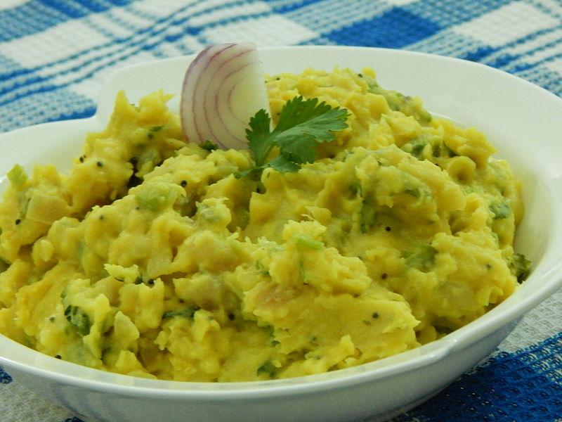 Pithla Bhakri, Food of Maharashtra
