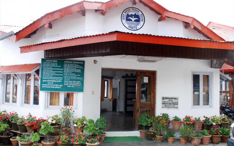 Tourist rest house in Binsar