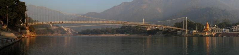 Ram Jhula at Rishikesh, places for solo travel