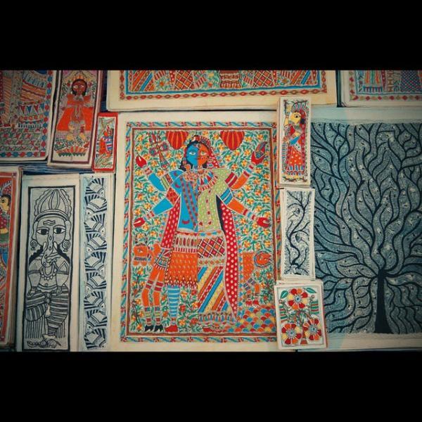 Madhubani Bihar -  Souvenirs From India