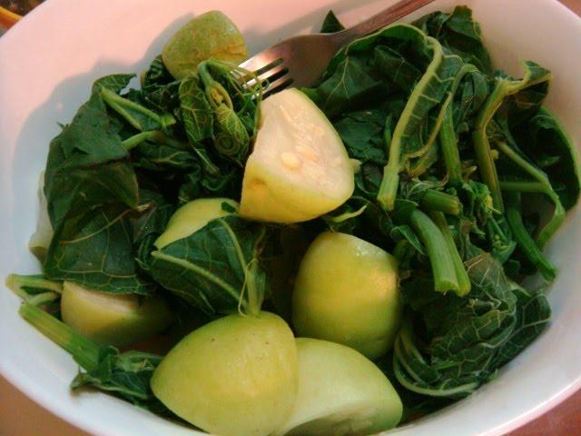 Boiled vegetables, Food of Nagaland,  Nagaland Food