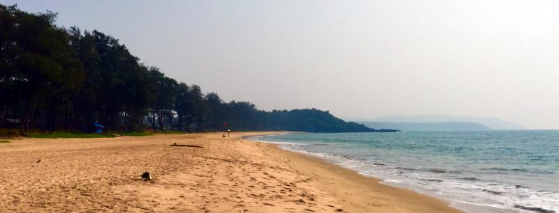 talpona beach, very good beach in goa