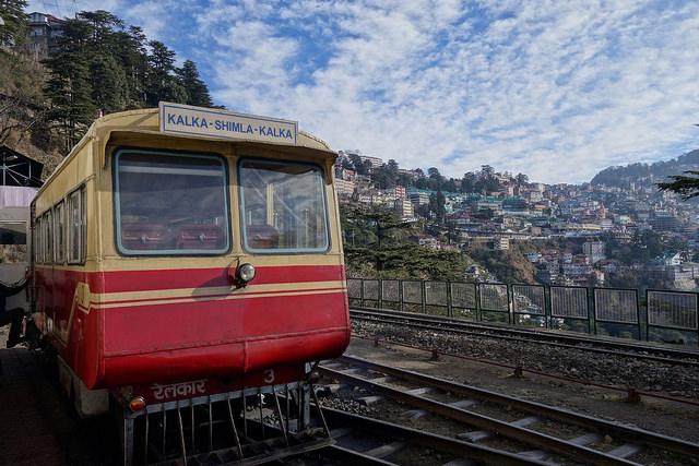 Toy train in Shimla -  Mountain Railways of India
