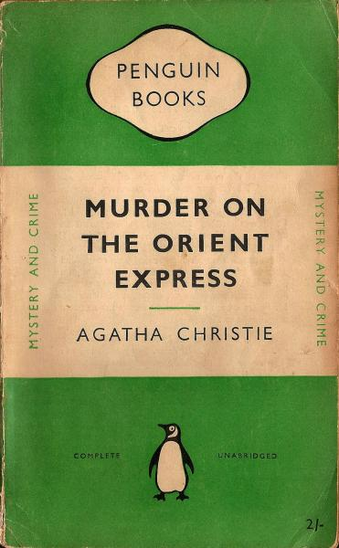Murder on the Orient Express - Books to read while travelling