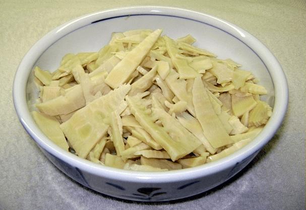 Sliced Bamboo Shoots - Food of Nagaland,  Nagaland Food