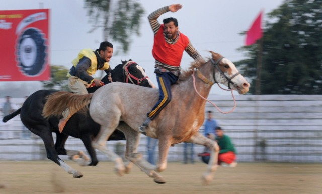 Horse Race at Kila raipur sports festival