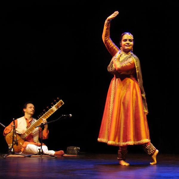 Kathak dance at the Natyanjali Dance Festival -  Festivals of Tamil Nadu