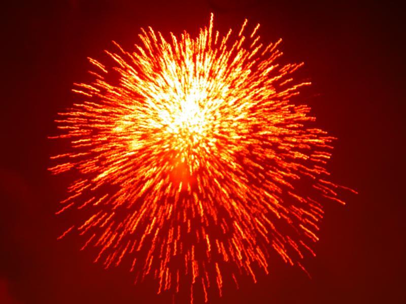 Thrissur Pooram_Fireworks_Festivals of Kerala