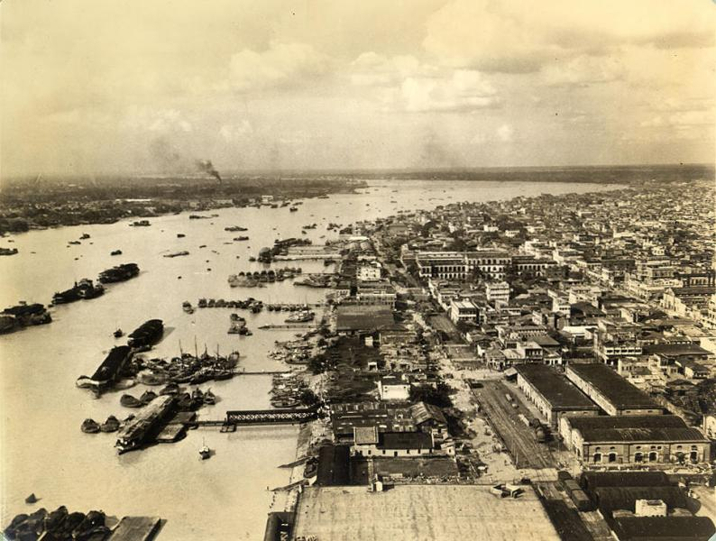 Port of Kolkata in 1945 - Seaports of India